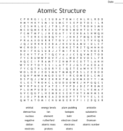 atomic structure word search [ 1121 x 930 Pixel ]