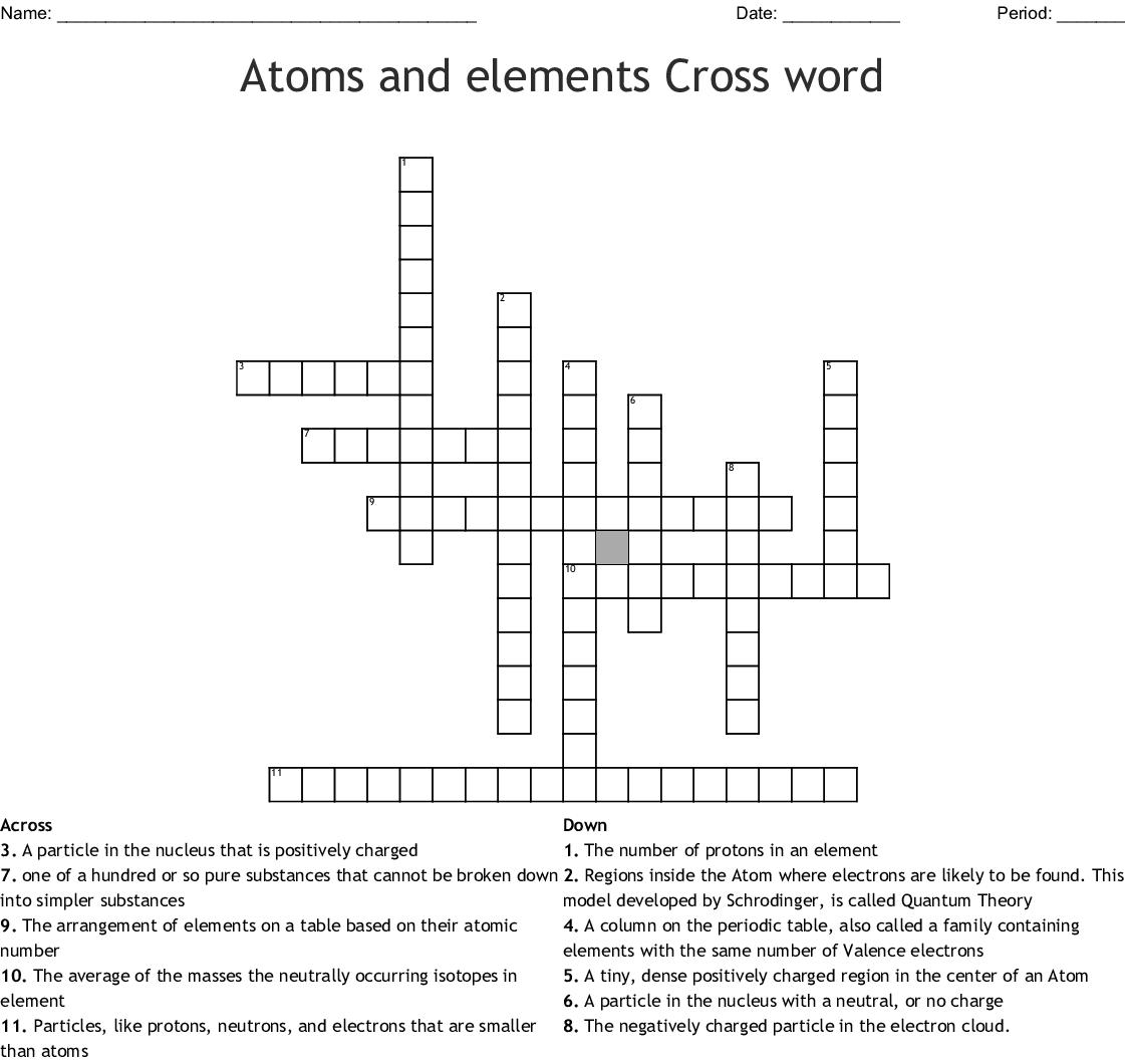 Build An Atom Worksheet Key