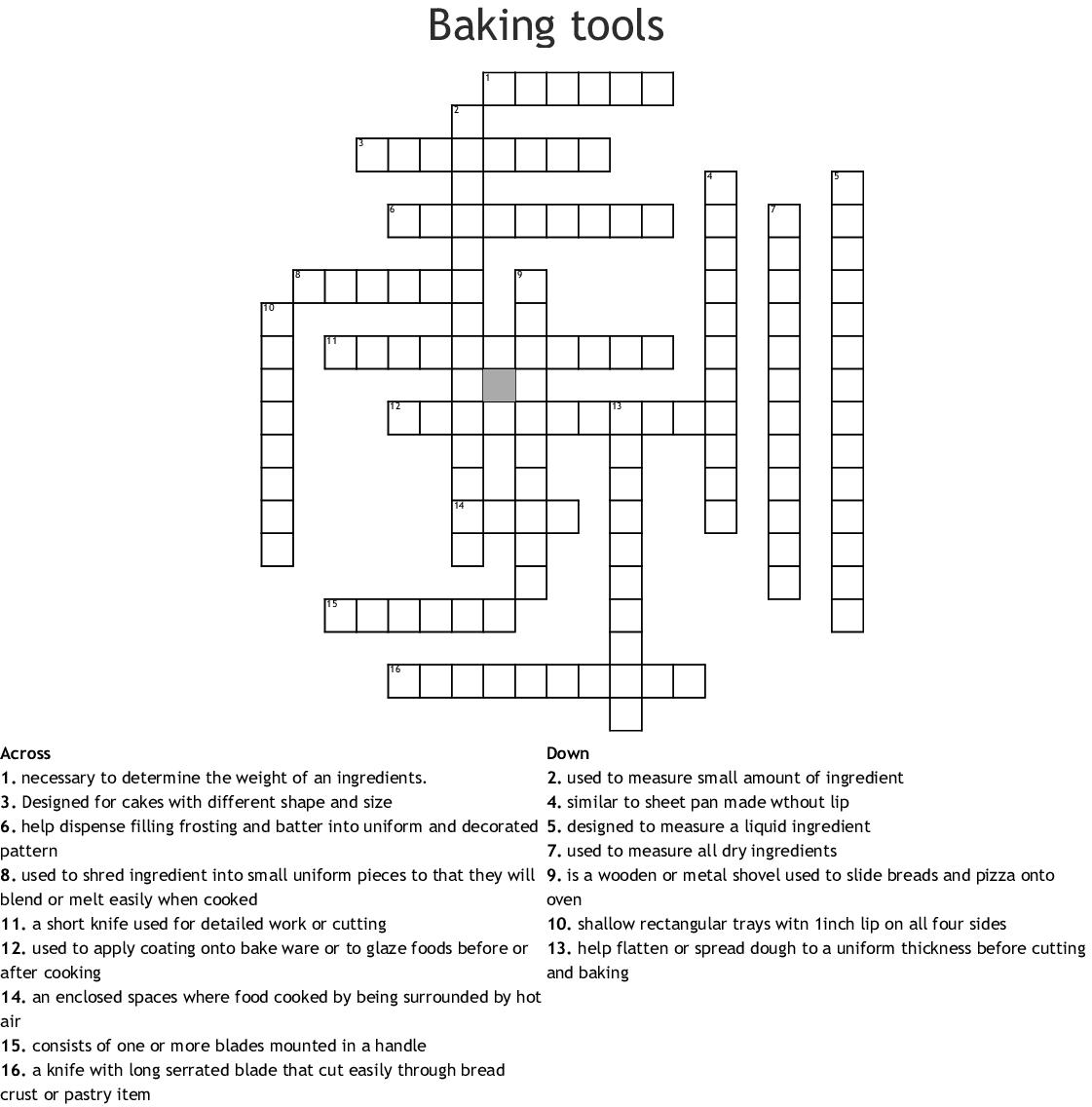 Adam S 20th Puzzle Crossword