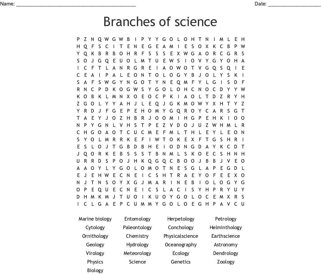 Worksheet World Of Genetics Word Search Answer Key