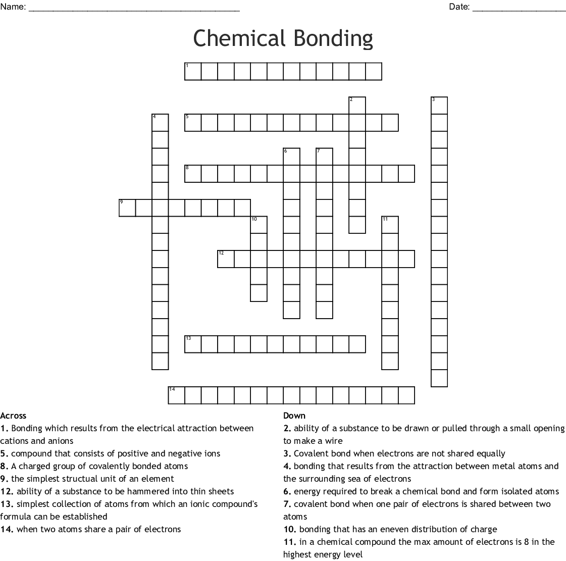 hight resolution of Worksheet Chemical Bonding Ionic And Covalent - Promotiontablecovers