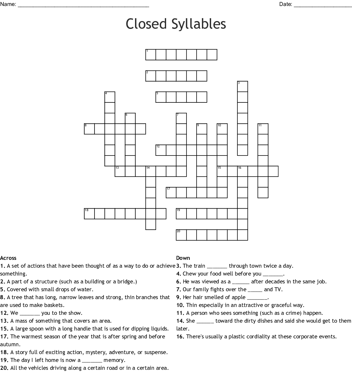 Similar To Blake S Spelling List Word Search