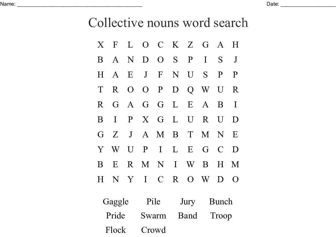 Lion Word Search