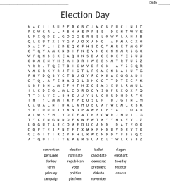 Election Worksheets Printable   Printable Worksheets and Activities for  Teachers [ 930 x 1121 Pixel ]
