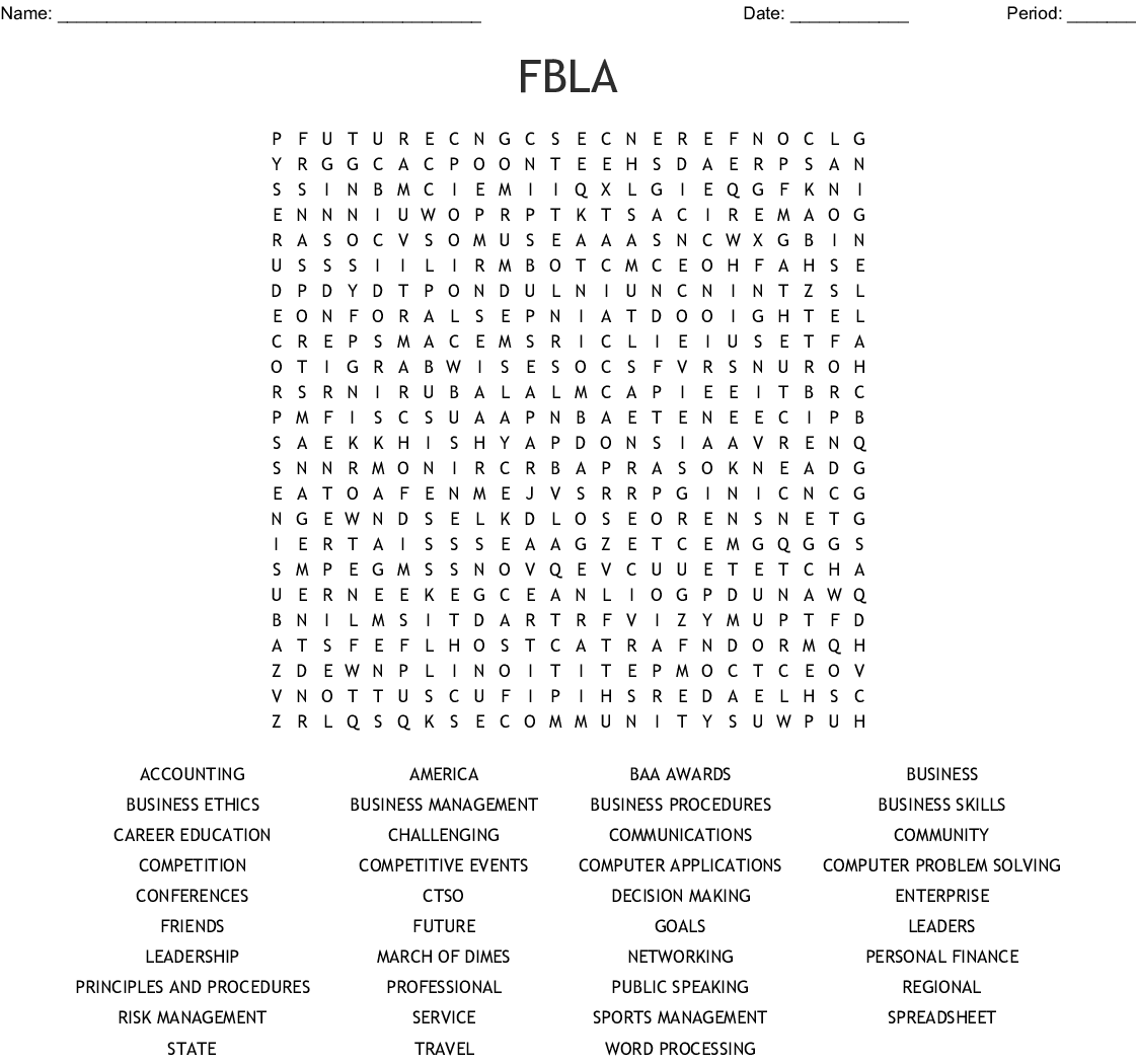 Character Qualities And Life Skills Word Search