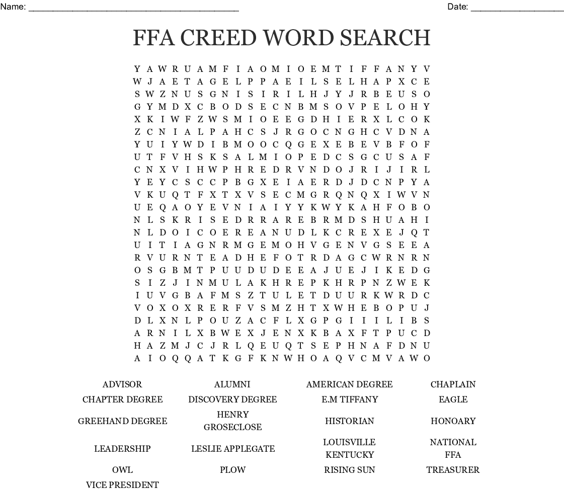 Horse Racing Wordsearch