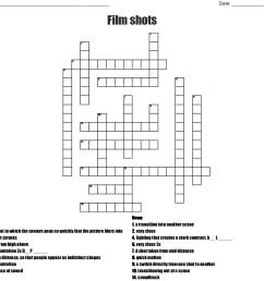 film shots crossword wordmint camera diagram crossword [ 1121 x 1061 Pixel ]
