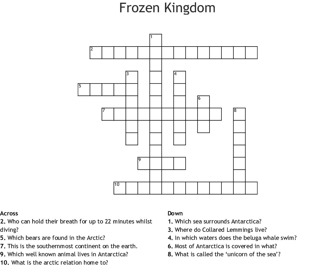 Sea In Antarctica Crossword Puzzle Clue