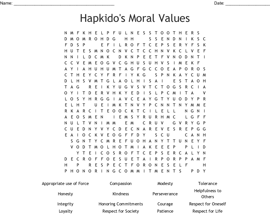 Tolerance Word Search