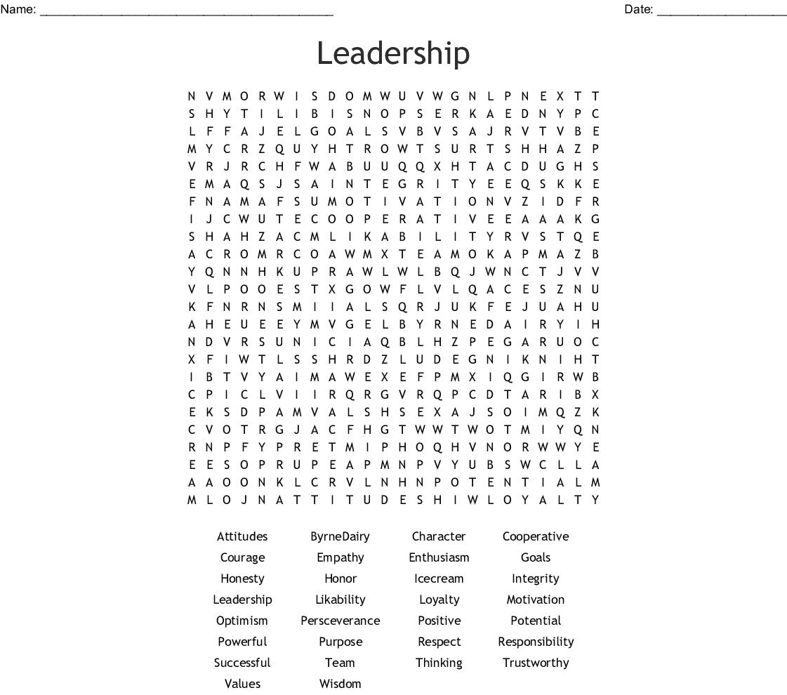 7th Grade Word Search