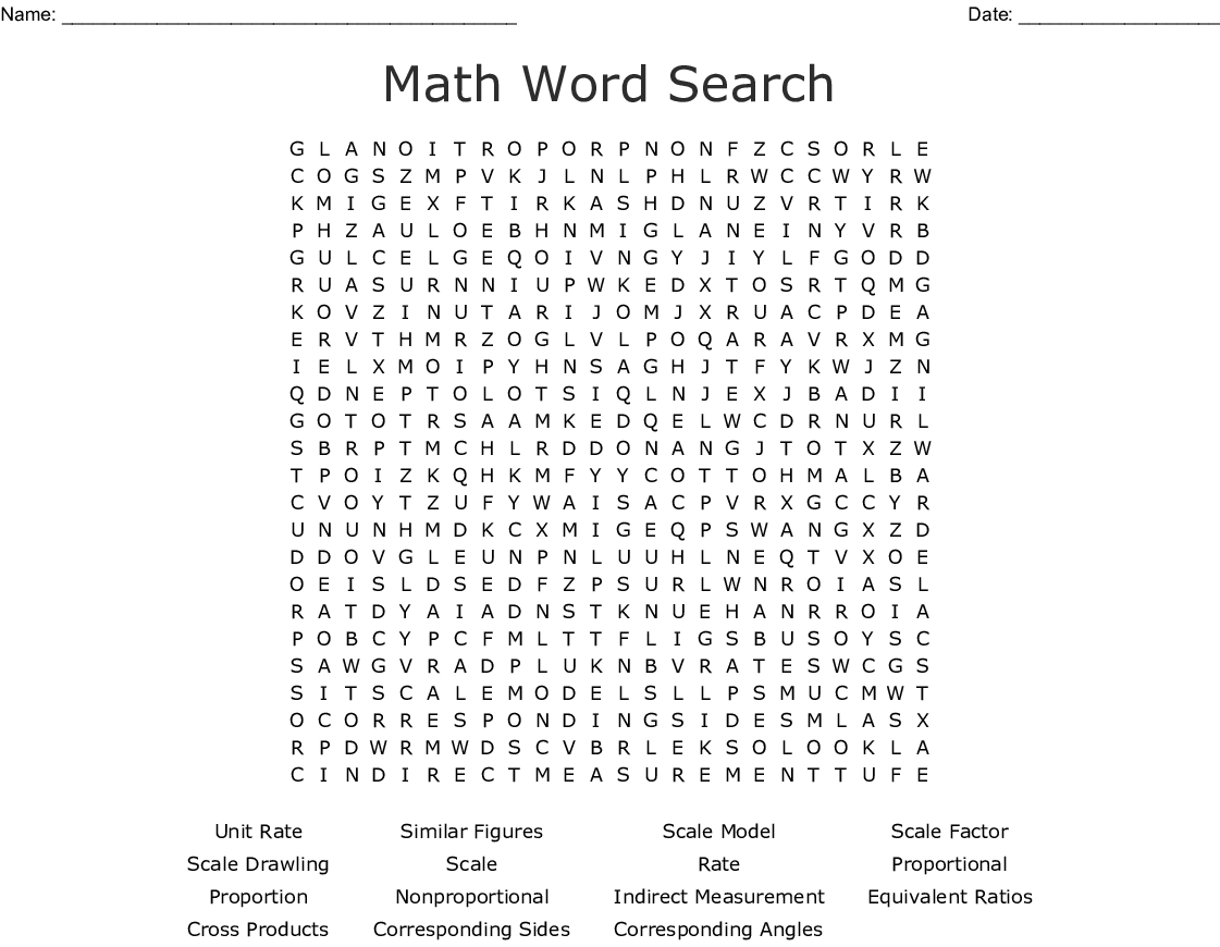 Chapter 5 Vocabulary Crossword