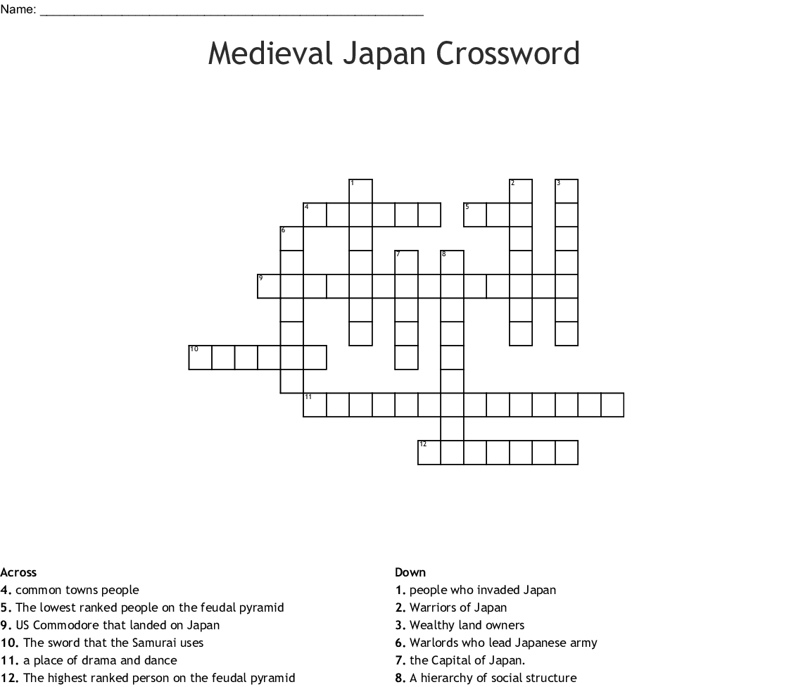 Me Val Japan Word Search