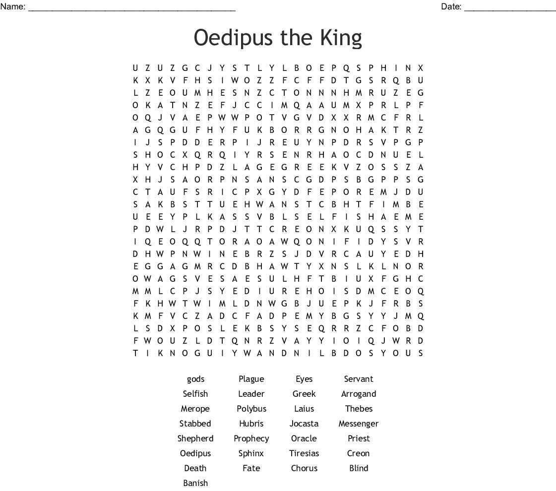 Antigone Crossword