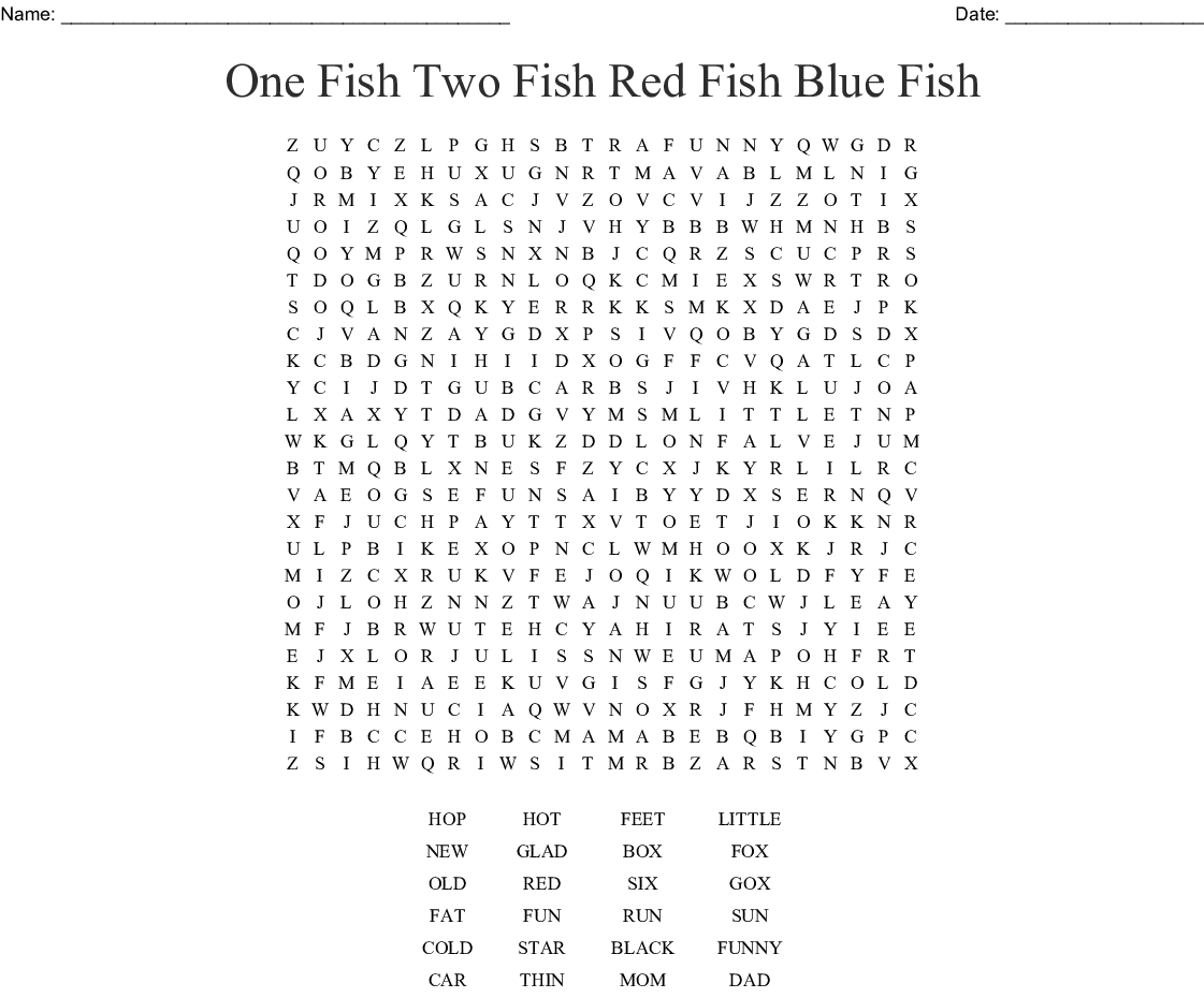 3 Letter Words Word Search