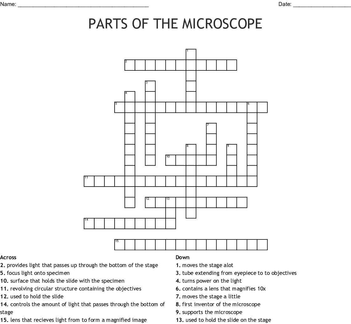 Cell Crossword