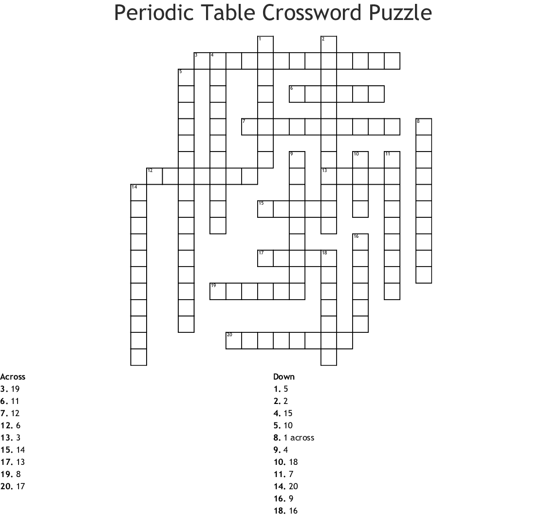 Optimists Crossword