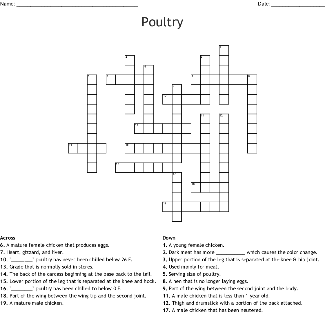 Southern Food Word Search