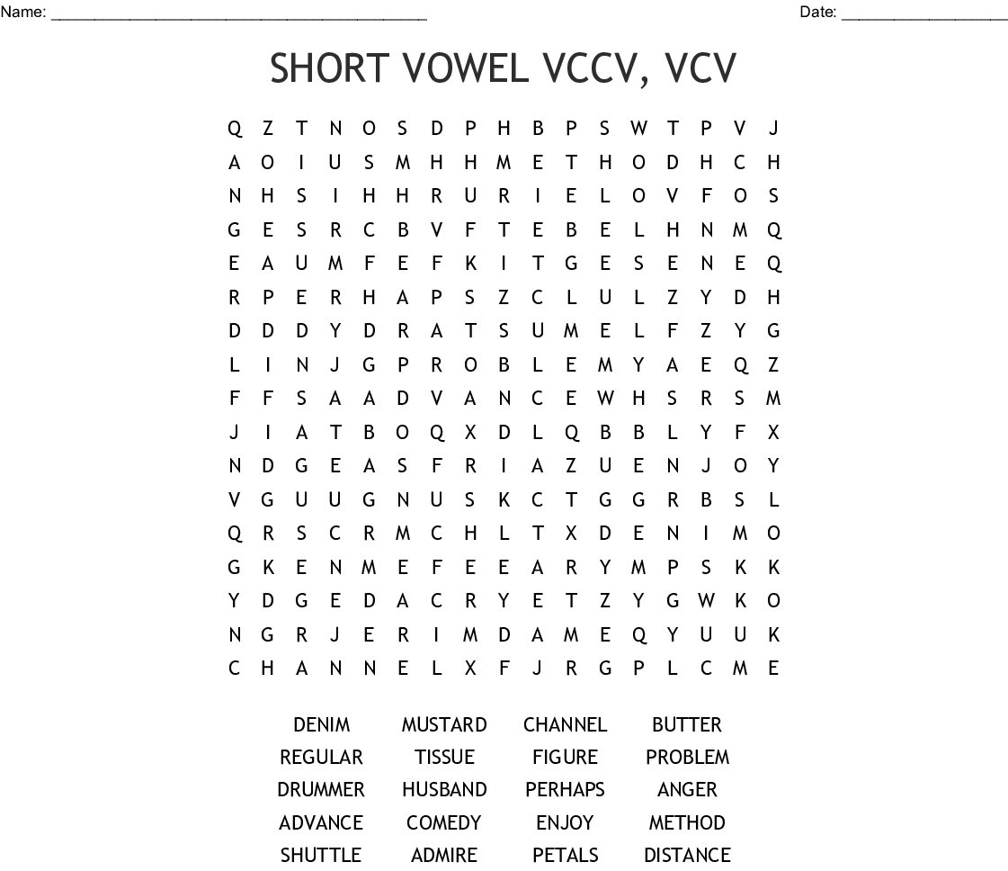 Vccv Words With Silent E