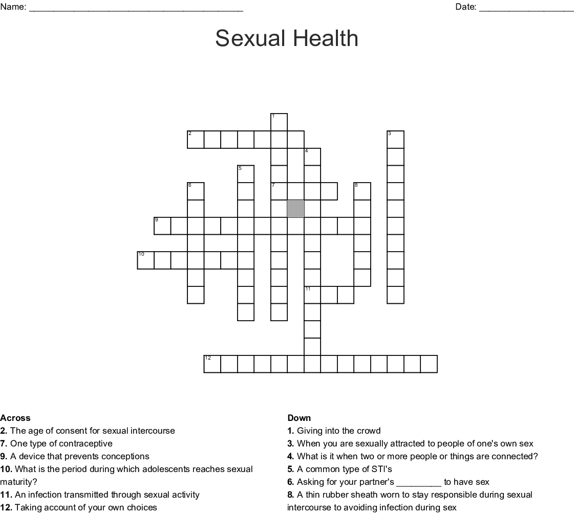 Education Crossword