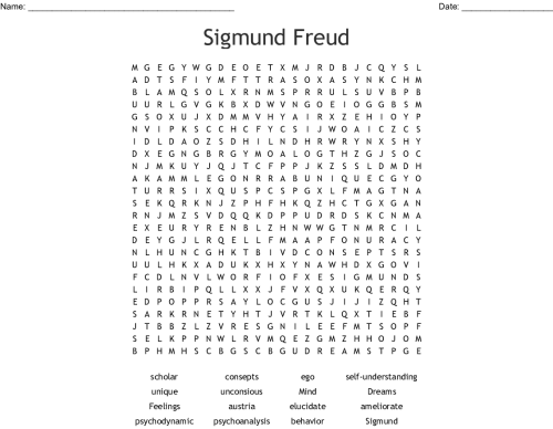 small resolution of sigmund freud word search