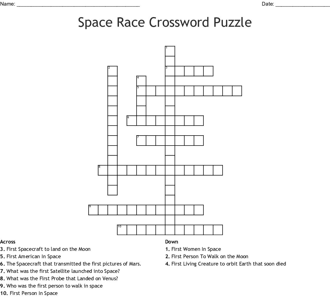 First Man Made Satellite To Orbit Earth Crossword