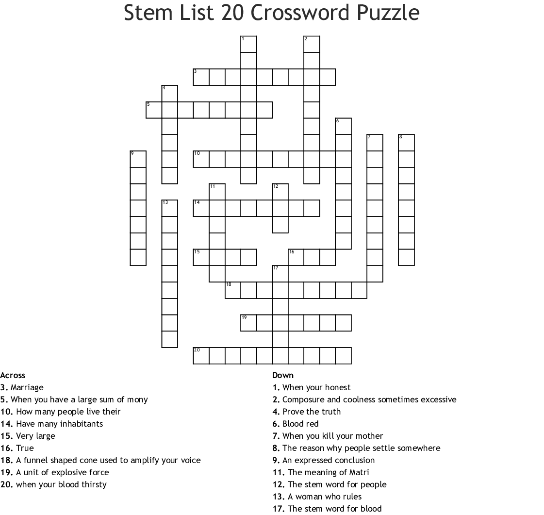 Games Crosswords Word Searches Bingo Cards
