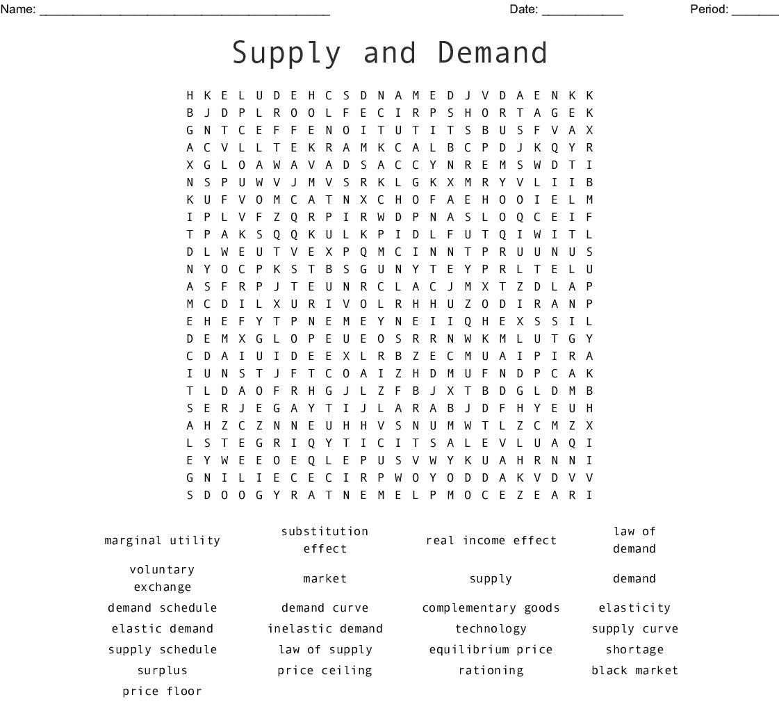 Economics Scrabble Word Scramble