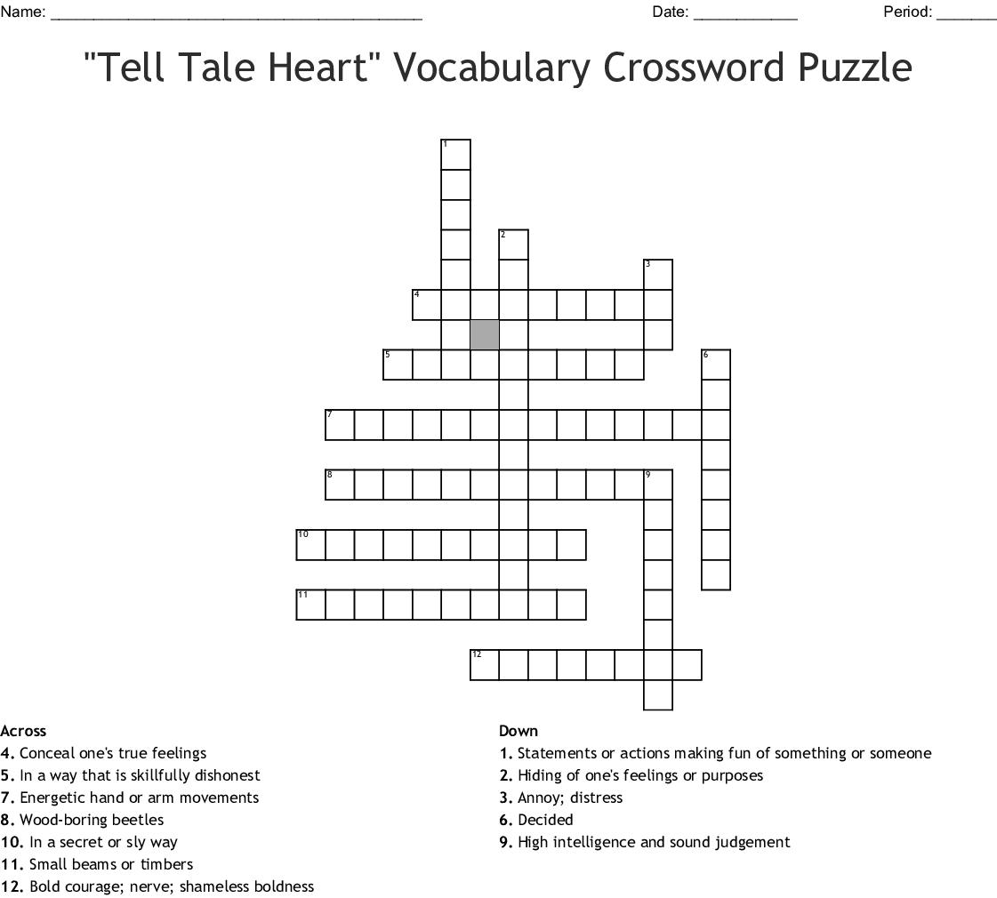 Midsummer S Nights Dream Vocabulary Crossword