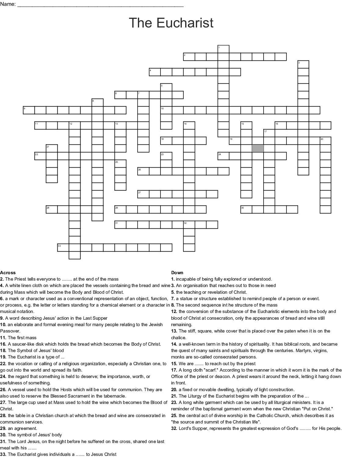 Paul And Barnabas Word Search
