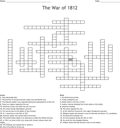 War Of 1812 Worksheet - Promotiontablecovers [ 1201 x 1121 Pixel ]