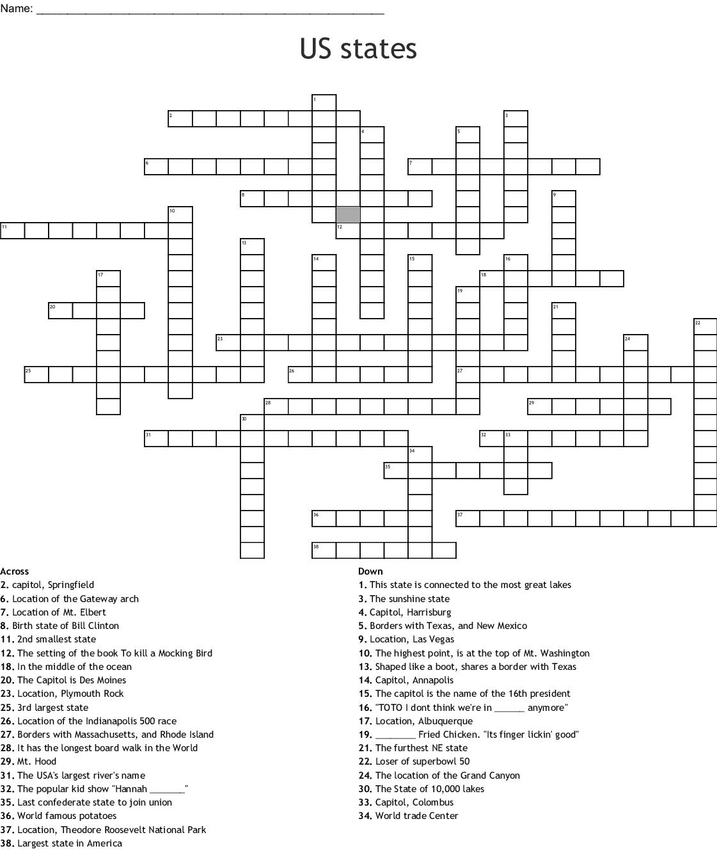 Maryland Horse Forum Crossword