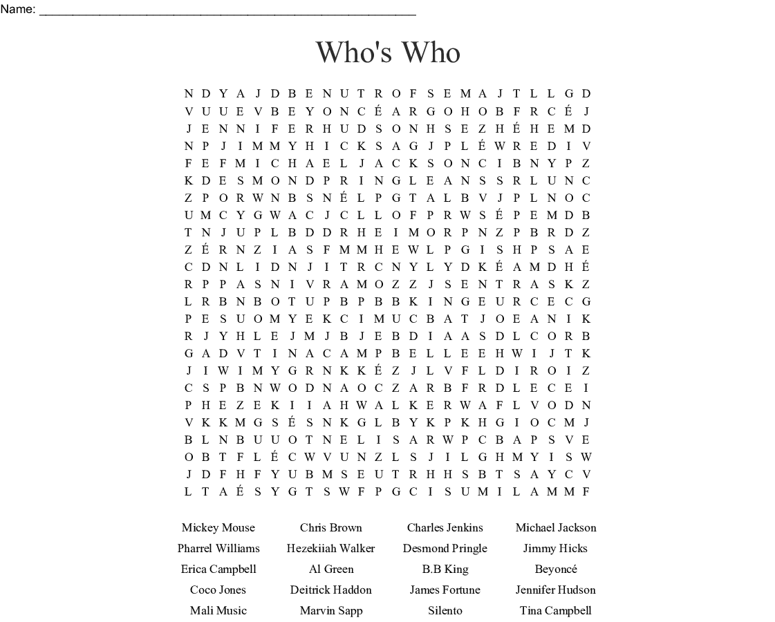 Cad Cam Word Search