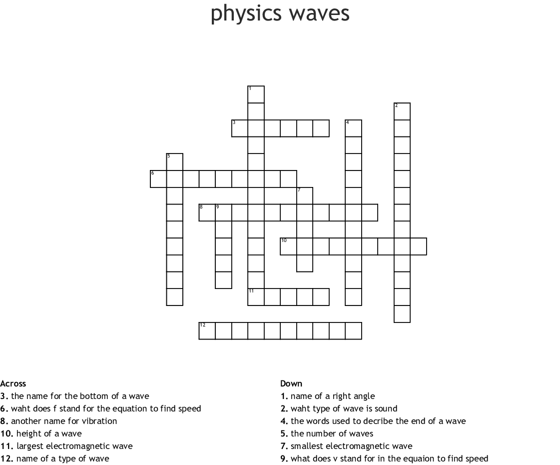 Physics Vibrations And Waves Worksheet Answers