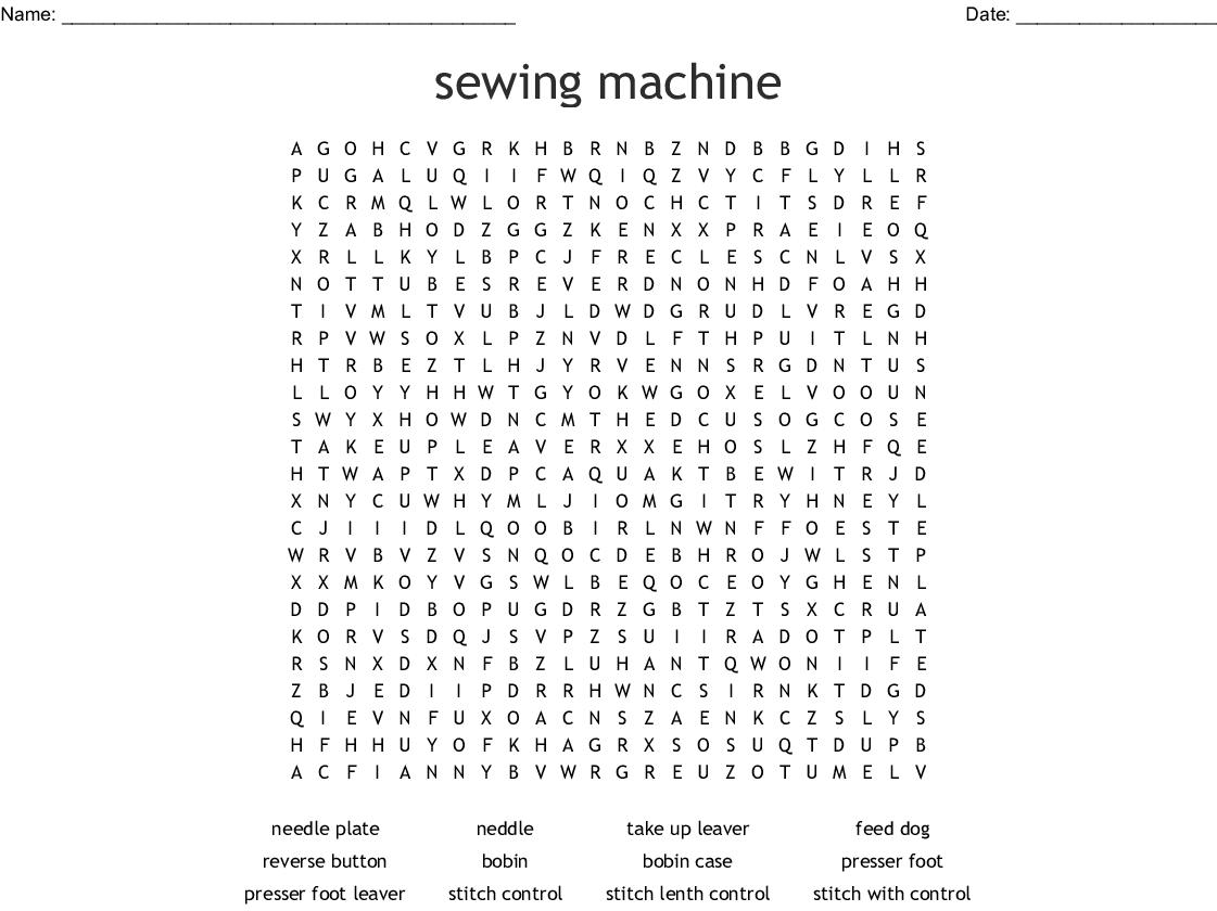 Worksheet Maker Word Search