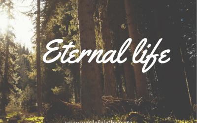 Eternal life