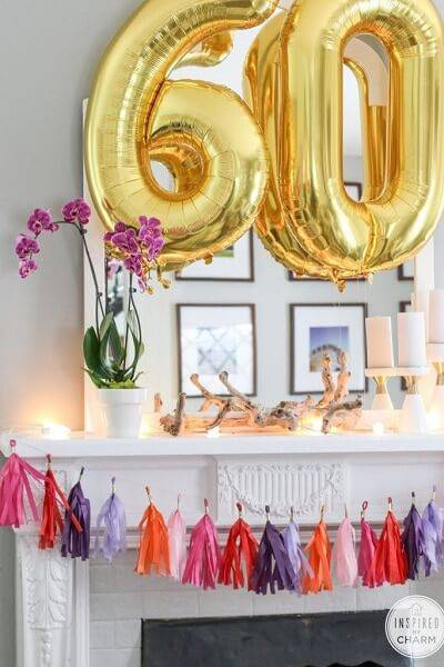 Como decorar um quarto para uma foto de aniversário 25