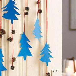 Hvordan dekorere døren for det nye året Foto 03