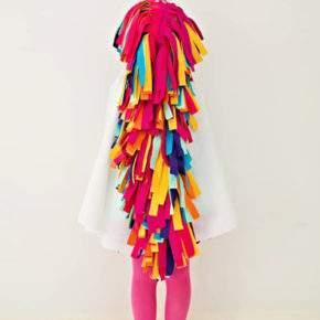 Жаңа жылдық қызға арналған костюмдер өз қолымен сурет 47