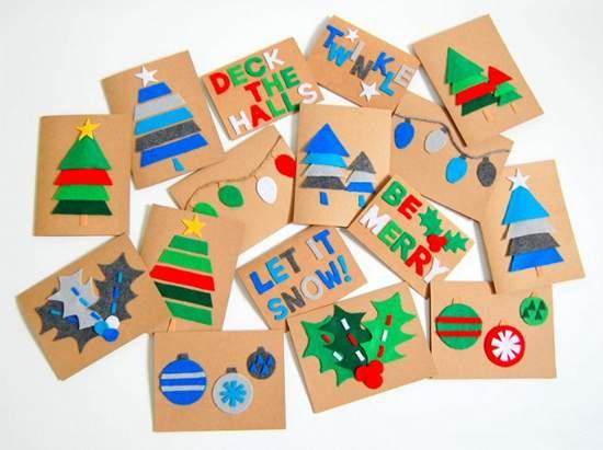 نحوه ایجاد یک عکس کارت پستال سال نو 076
