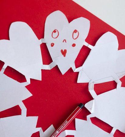 сердце из бумаги своими руками фото 075