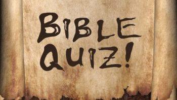 Permalink to: Bible Quiz