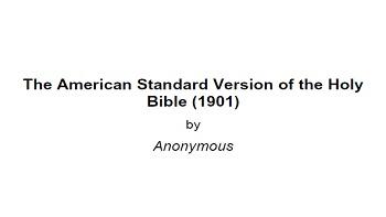 Asv Bible Pdf