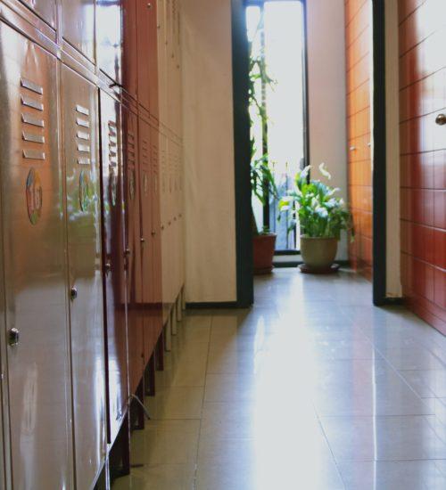 secured storage lockers