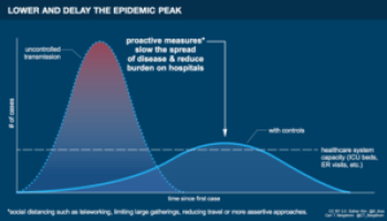 Epidemic infographic by Esther Kim & Carl T. Bergstrom