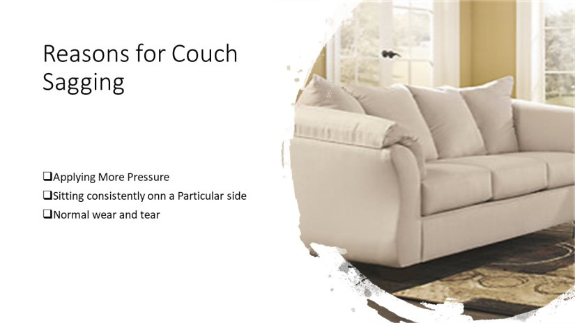 Reasons for Couch Cushion sagging