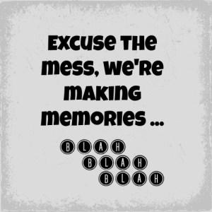 Excuse the mess and blah blah blah