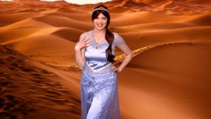 The Arabian Princess - personalised princess video message
