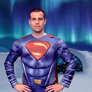 The Strong Hero - personalised superhero video message