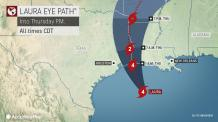 Laura explodes into Category 4 hurricane packing 145-mph winds