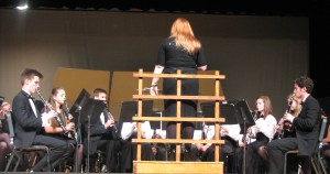 Clarinet Choir at Spring Concert 2015